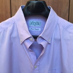 Other - Thomas Pink Dress Shirt XL